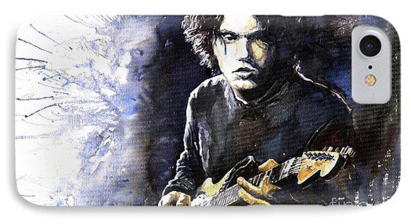 Jazz Rock John Mayer 03  Phone Case by Yuriy  Shevchuk