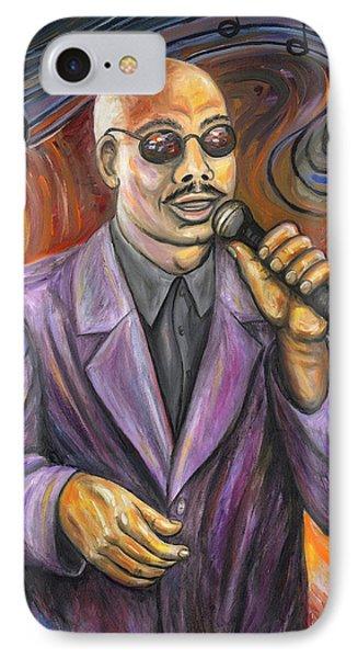 Jazz Singer Phone Case by Linda Mears