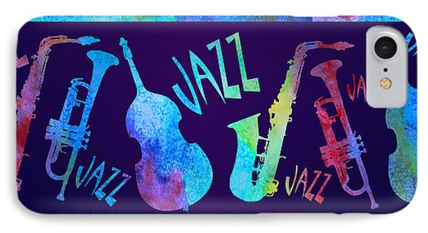 Jazzy Combo IPhone Case by Jenny Armitage