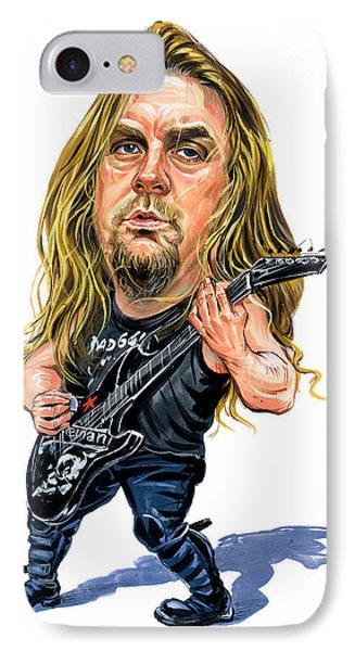 Jeff Hanneman IPhone Case by Art
