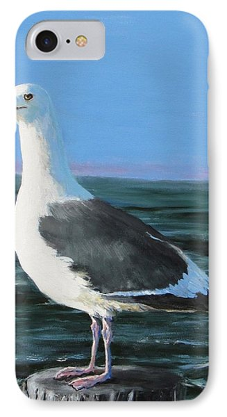 Jeff The Seagull IPhone Case by Jack Skinner