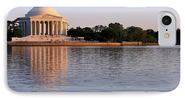 Jefferson Memorial IPhone Case by Olivier Le Queinec