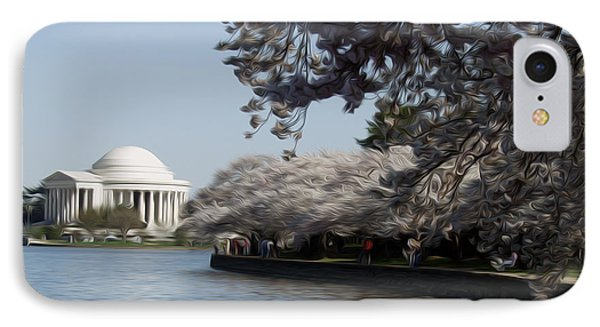Jeffersonian Blossoms Phone Case by Kelvin Booker