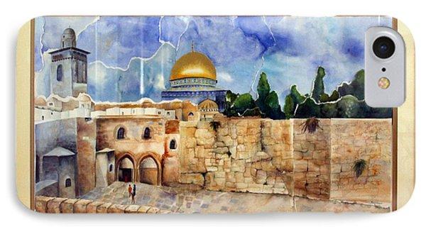 Jerusalem Cradle Of Civilization Phone Case by Rachel Alhadeff