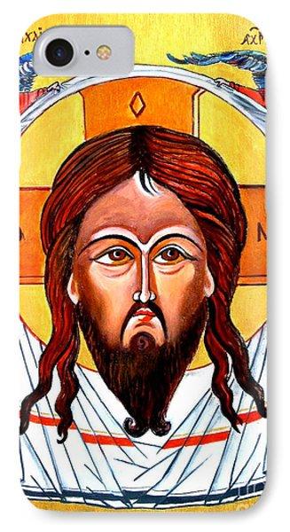 Jesus Christ Mandylion Icon Phone Case by Ryszard Sleczka