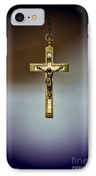 Jesus On The Cross 2 Phone Case by Paul Ward