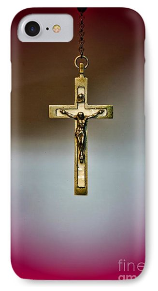 Jesus On The Cross 3 Phone Case by Paul Ward
