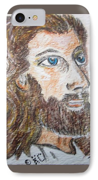 Jesus Our Saviour Phone Case by Kathy Marrs Chandler