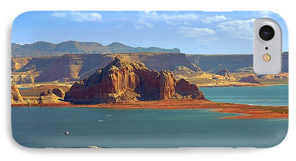 Jewel In The Desert - Lake Powell Phone Case by Christine Till