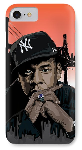 Jigga IPhone 7 Case by Lawrence Carmichael