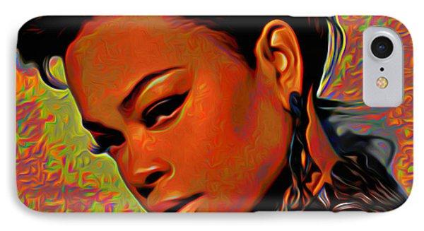 Jill Scott IPhone Case by  Fli Art