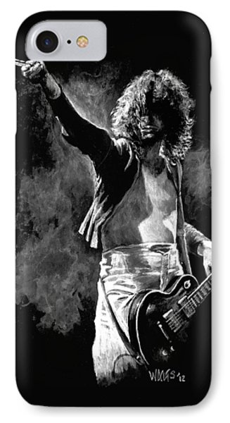 Jimmy Page IPhone Case by William Walts