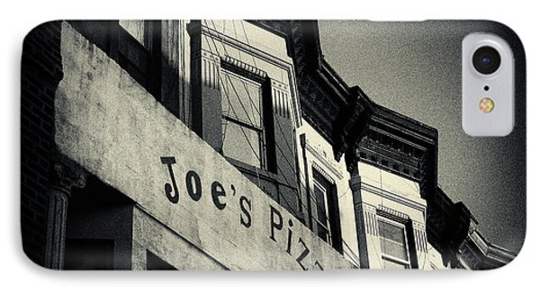 Joe's Pizza Park Slope New York City IPhone Case by Sabine Jacobs