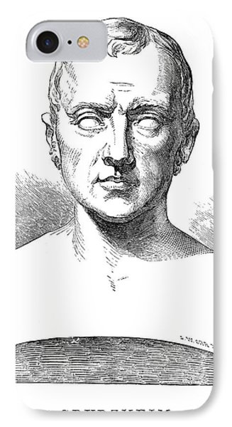 Johann Kaspar Spurzheim Phone Case by Granger