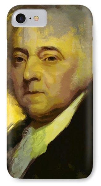 John Adams IPhone Case by Corporate Art Task Force
