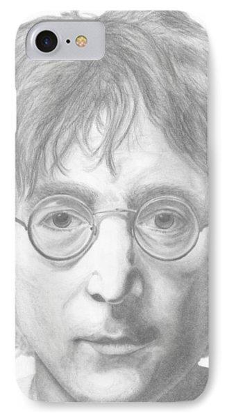 John Lennon Phone Case by Olivia Schiermeyer
