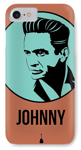 Johnny Poster 1 IPhone 7 Case by Naxart Studio