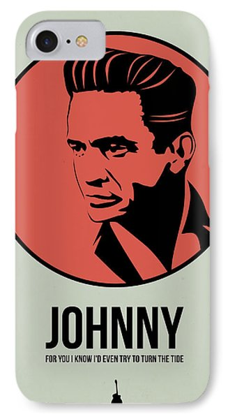 Johnny Poster 2 IPhone 7 Case by Naxart Studio