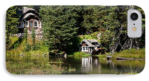 Johnny Sack Cabin Phone Case by Robert Bales