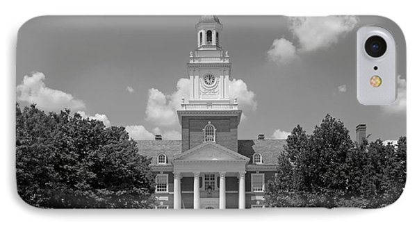 Johns Hopkins Gilman Hall IPhone Case by University Icons