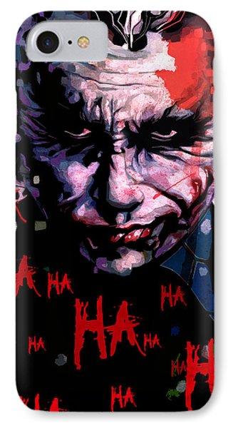 Joker IPhone 7 Case by Jeremy Scott