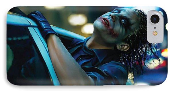 Joker IPhone 7 Case by Veronika Limonov