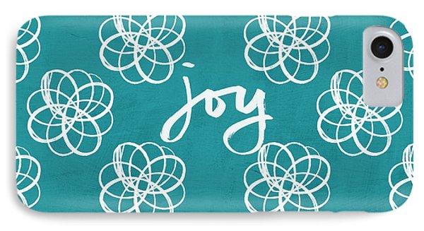 Joy Boho Floral Print IPhone Case by Linda Woods