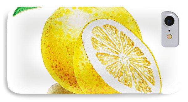 Juicy Grapefruit IPhone 7 Case by Irina Sztukowski