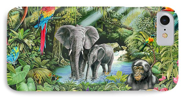 Jungle IPhone Case by Mark Gregory