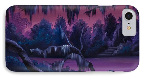 Jungle Of Narnia IPhone Case by James Christopher Hill