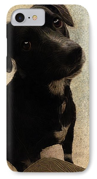 Just One Question... IPhone Case by Paul Gioacchini