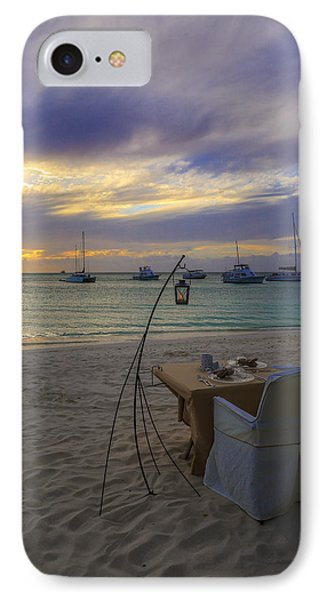 Just Sit Back Relax And Enjoy The Sunset IPhone Case by Eti Reid