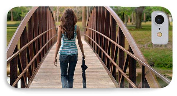 Just Walk Away Renee Phone Case by Laura Fasulo