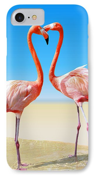 Just We Two IPhone 7 Case by Kristin Elmquist