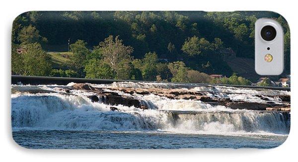 Kanawah Falls I - Spring IPhone Case by Paulette B Wright