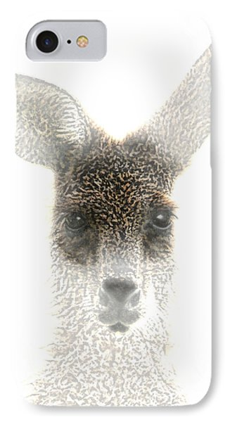 Kangaroo Phone Case by Holly Kempe