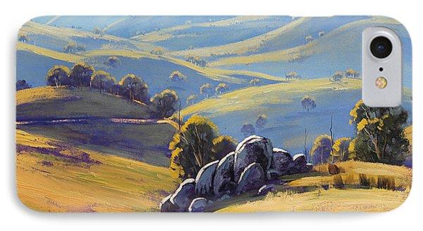 Kanimbla Granite IPhone Case by Graham Gercken