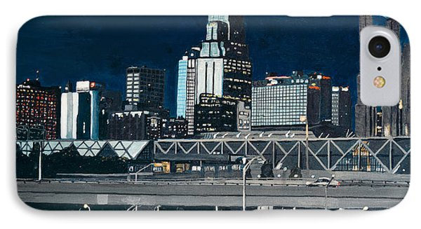 Kc At Dusk Phone Case by Patricio Lazen