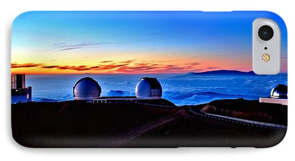 Keck At Sunset - Panoramic Phone Case by Bob Kinnison