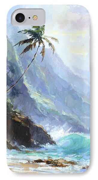 Ke'e Beach IPhone Case by Jenifer Prince