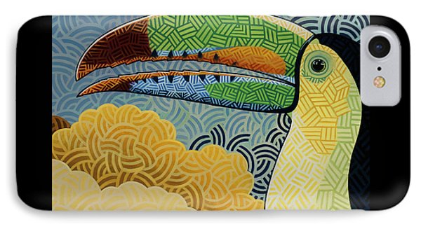 Keel-billed Toucan Phone Case by Nathan Miller