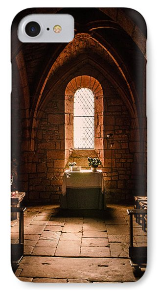 IPhone Case featuring the photograph Keep The Faith by Thierry Bouriat
