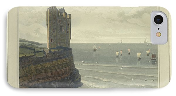 Keiss Castle In Caithness IPhone Case by British Library