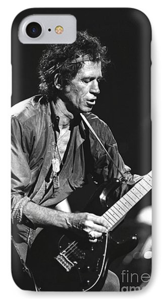 Keith Richards IPhone Case by Concert Photos