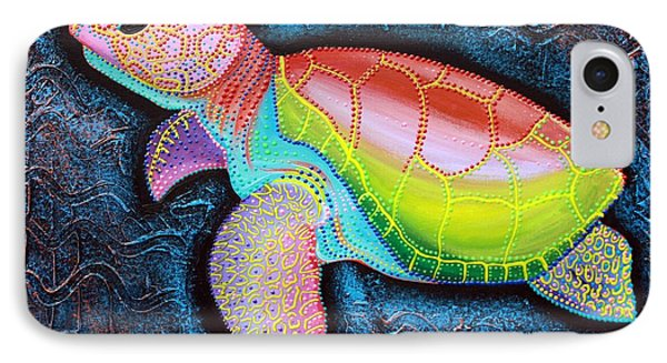 Kemp's Ridley Sea Turtle IPhone Case by Laura Barbosa