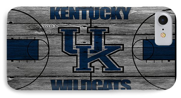 Kentucky Wildcats IPhone 7 Case by Joe Hamilton