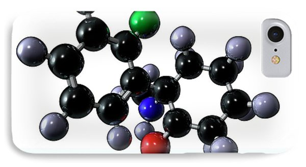 Ketamine Drug IPhone Case by Animate4.com/science Photo Libary