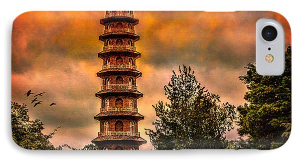 Kew Gardens Pagoda Phone Case by Chris Lord