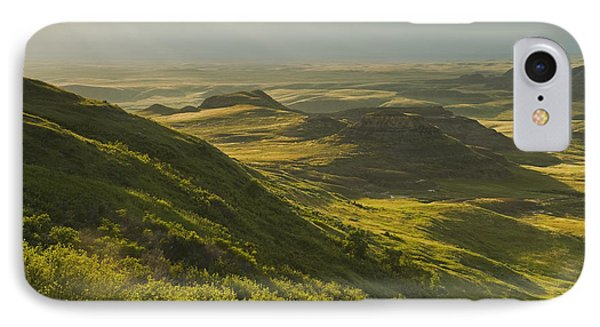 Killdeer Badlands In The East Block Of IPhone Case by Dave Reede