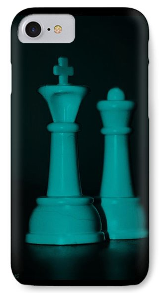King And Queen In Turquois Phone Case by Rob Hans